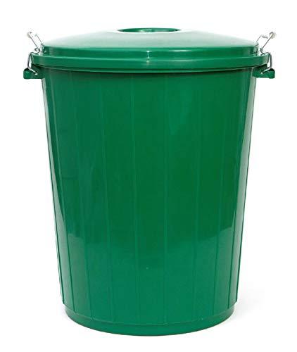 PAMEX - Cubo de Basura 50L Colores Verde