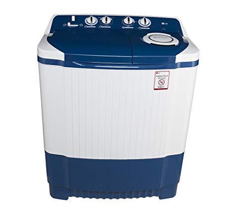 Lg 7.0 Kg Semi Automatic Top Loading Washing Machine  P8071N3Fa, Dark Blue