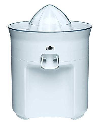 Braun Tribute Collection CJ 3050 Zitruspresse (60 W, 0,35 l) weiß (Elektrische Braun Zitruspresse)