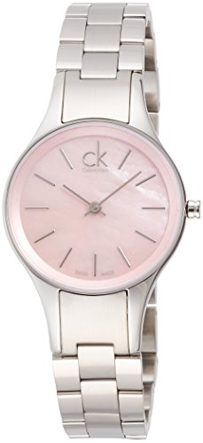 Calvin Klein Womens Analogue Quartz Watch with Stainless Steel Strap K432314E