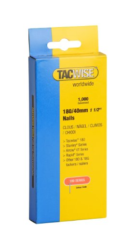 Tacwise 0747 Nägel Verzinkt ( 180/40mm ,1.000 Stück pro Verpackung)