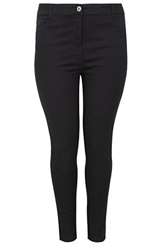 Yoursclothing Plus Size Womens Super Stretch Skinny Jeans