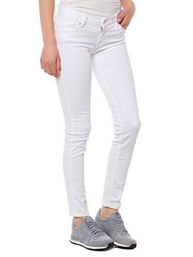 CUP OF JOE HOSE DAMEN JEANS RÖHRENJEANS GINA WHITE WEISS WHITE WOMEN, Hosengröße:W29/L32 - Joes Jeans Hose