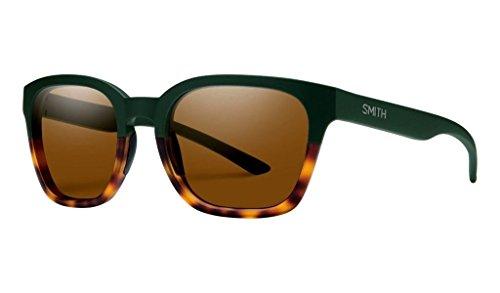 Smith Optics Herren Gründer Slim Lifestyle Polarisierte Sonnenbrille, Grün, Founder Slim