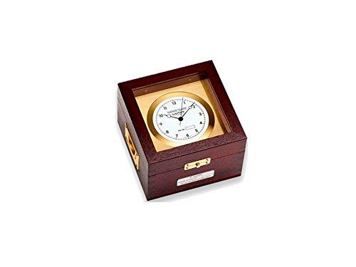 Wempe Marine Quarz Chronometer Messing / Mahagoni
