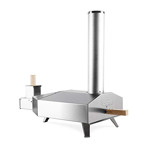 Pizza Oven - Pizza Maker - Outdoor Pizza Oven - Portable Oven - Award Winning Uuni 3 Pizza Oven w/ Pizza Stone