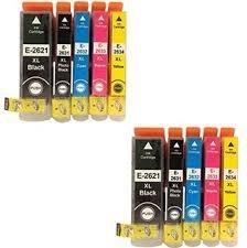 Preisvergleich Produktbild Premier Druckerpatronen, Ersatz für Epson Expression Premium XP-510 XP-520 XP-600 XP-605 XP-610 XP-615 XP-620 XP-625 XP-700 XP-710 XP-720 XP-800 XP-82-Drucker 26XL, 10Stück
