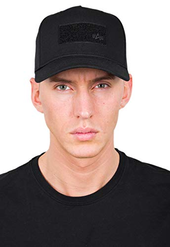 Alpha Industries VLC Patch Snapback Cap (black, one size)