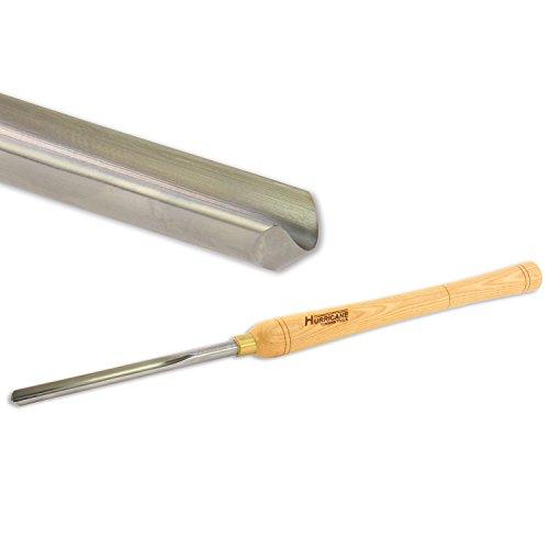 Hurricane Drehen Werkzeug, Drechseln Schüssel Hohlbeitel, High Speed Stahl, 1/5,1cm Flöte (5/20,3cm Bar Lager)