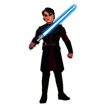 Deluxe Kostüm Anakin Skywalker Kind -