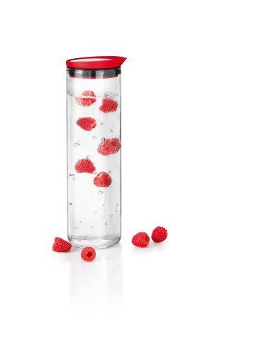 Blomus 63506 Wasserkaraffe Fontana rot V 1,0L