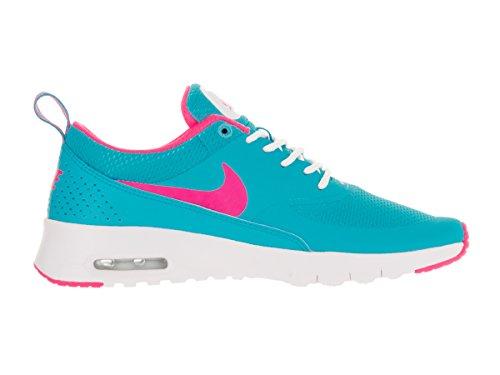 Nike - Air Max Thea (Gs), Scarpe sportive Bambina Blu (Azul (Azul (Gamma Blue / Pink Blast-White)))