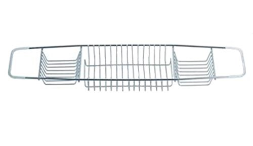 Blue Canyon Stainless Steel Over The Bath Tray Soap Storage Rack