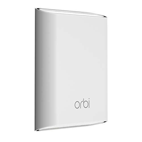 Netgear Orbi Ripetitore Wifi Mesh da Esterno, Fino a 150 Mq, Compatibile con Tutti i Router, Compatibile Alexa (Rbs50Y)
