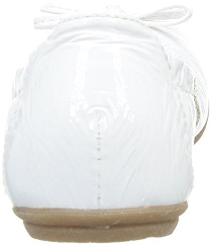 Ramdam Lisbonne, Ballerines fille Blanc (39 Vvn Blanc Dpf/Forte)