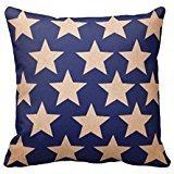Americana Vintage Stars PillowCase 16x16 (Americana Vintage)