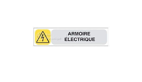 Aua Signaletique Armoire Electrique Auasign Vinyle Adhesif