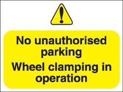 stewart-superior-outdoor-kein-uauthorised-parking-klemmen-in-betrieb-schild-foamboard-ref-fb047