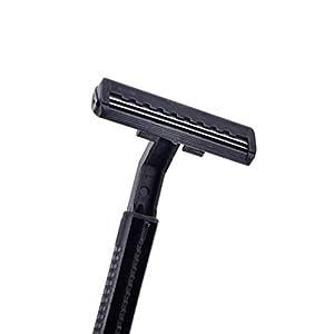 Bloomgreen Co. 2pcs / set Badezimmer Einweg-Rasierer Klinge aus rostfreiem Stahl für den Menschen QC