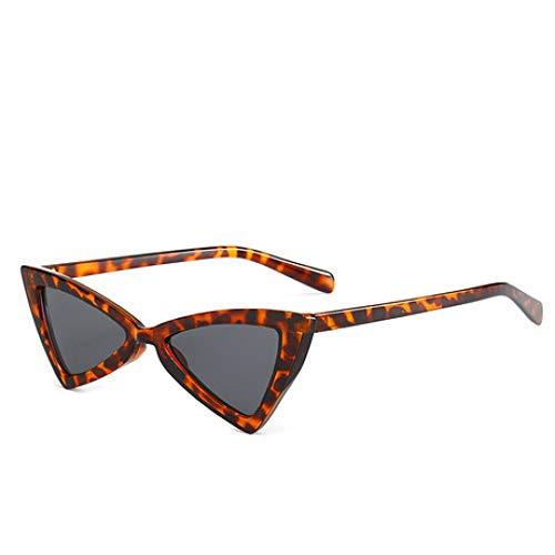 SPFAZJ Sonnenbrillen 2019 Neue Butterfly Sonnenbrillen Trend Persönlichkeit Dreieck Brille