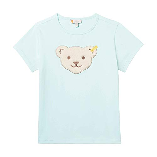 Steiff Baby-Mädchen T-Shirt, Türkis (Blue Light 5008), 86 -