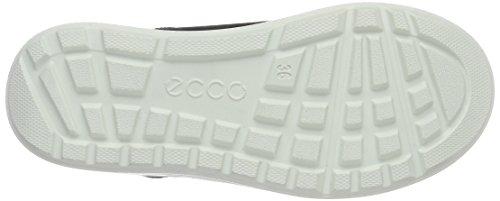 Ecco ECCO URBAN SNOWBOARD, Bottes en caoutchouc à tige basse et doublure chaude garçon Noir (BLACK/BLACK51052)
