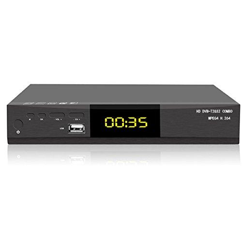 4K HD Digital Set-Top-Box T2 + S2COMBO WIFI Netzwerk-TV-Box Composite-Maschine Multifunktions- Media-Player