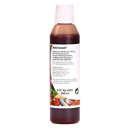 Aminosol 250 ml organischer Flüssigdünger für Pflanzen/Bonsai 63040