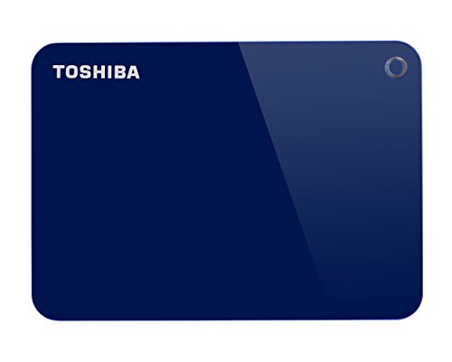 toshiba canvio advance - disco duro externo (1000 gb, 2.5, 3.0 (3.1 gen 1), azul)