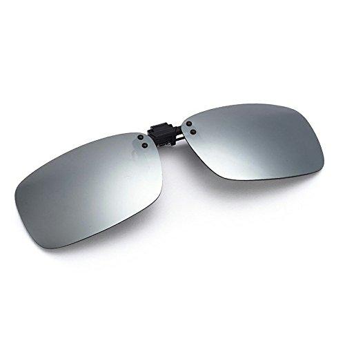 Cyxus polarisierte Überbrille Sonnenbrille für Brillenträger Überzieh-Sonnenbrille mit Brillen-Etui für Herren und Damen Sonnenbrillen-Clip