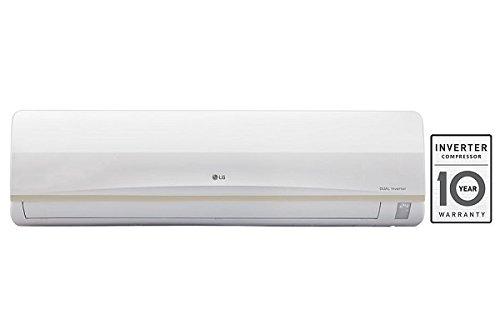 LG 1.5 Ton 3 Star Inverter Split AC (Aluminum, JS-Q18PWXA,...