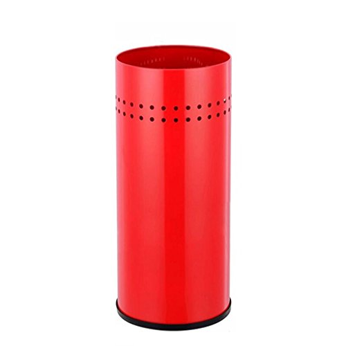 Red Umbrella Stand (LYL Continental Eisen Regenschirm Ständer Umbrella Eimer Lobby Müll Fass Lager Fässer Regenschirm Ständer Umbrella Stand Multifunktions Home Office Red (22 * 50cm))