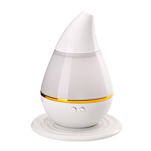 HaSayLike 7 Luftbefeuchter Der Farbe Led UltraschallöL-Luftreiniger-Aroma-Diffusor-Aromatherapie Mit Usb, SchließT Automatisch Ab & Super Leise Weniger Als 30 Db-Luftbefeuchter