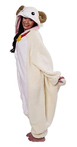 Schaf Kostüm / Kigurumi Onesie - Flauschige Schaf Kostüm