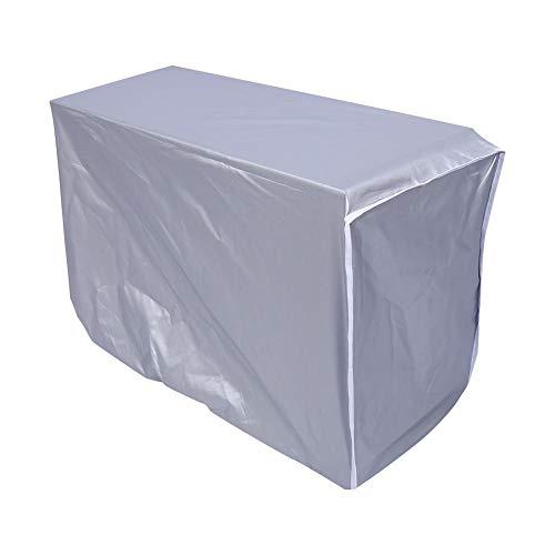 Coperchio del climatizzatore, resistente all'acqua impermeabile antipioggia 3 taglie cappuccio per esterno adatto per l'aria condizionata condizionatore esterno(# 3)