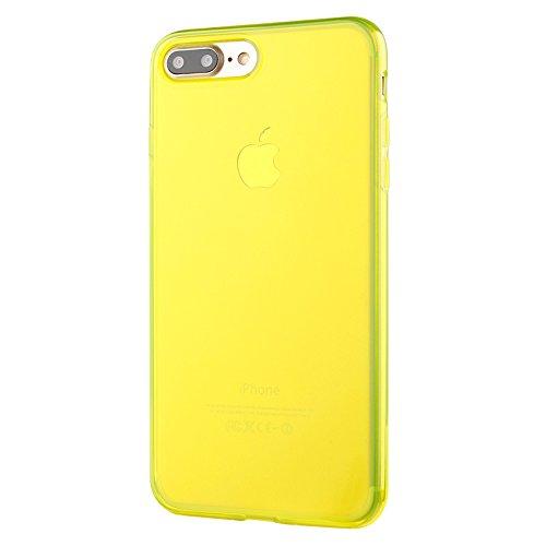 custodia iphone 7 plus gialla