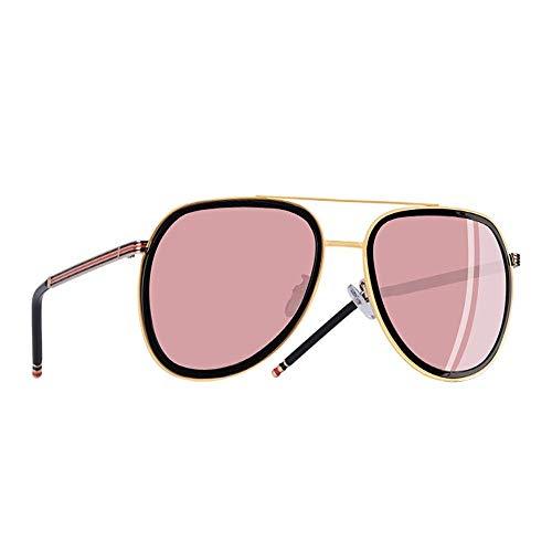 YSA Sonnenbrille Polarized Aviator Sonnenbrille Herren 'S and Women 'S Sonnenbrille Metallrahmen Oval Lens Brille