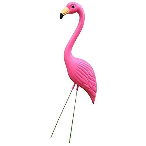 FLAMEER Pink Flamingo Yard Rasen Ornamente, 31,5 Zoll Satz Von 2 (Flamingos Rosa Hof)