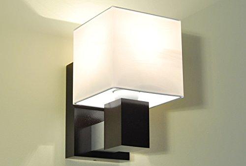 Elegante lampada lk11a da parete in legno massiccio illuminazione