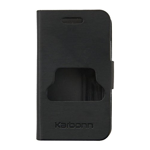 Acm Caller Id Case For Karbonn Smart A3+ Plus Mobile Table Talk Flip Cover Stand-Black  available at amazon for Rs.389