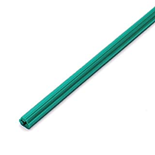 Bulk Hardware BH02064 Cut to Fit PVC Hardwall Concrete Wallplug Anchor, 300mm (12 inch) for 10 - 12 Screws Drill Size 8 - Green, Pack of 10