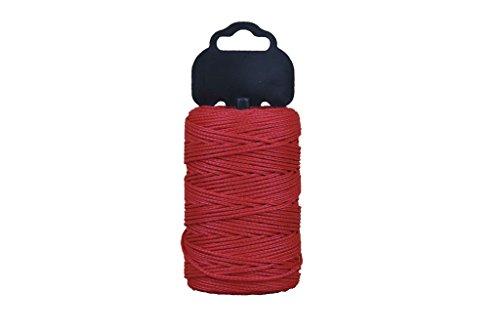 Cofan 08101004 - Hilo de albañil en polipropileno (1.5 mm x 100 m) color rojo