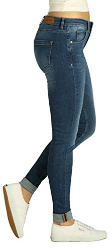 Fritzi aus Preußen Damen Jeans Downey Skinny Basic Black
