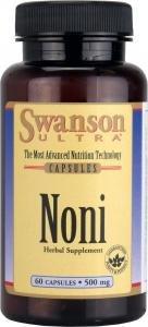 Swanson Ultra Noni Capsules, 500 mg, 60-Count