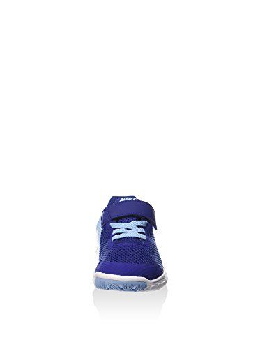Nike Flex Experience 5 (Psv), Chaussures de Football Mixte Bébé Azul (Bluecap / Metallic Silver-Deep Royal Blue)