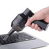 Svpro Mini USB Computer Keyboard Staubsauger,kabellos Tastatur Reiniger Kit,Tragbare wiederaufladbare Lithium-Batterie-Staubsauger für die Reinigung von PC Laptop, Kfz-Gerät, Kamera, Elektronik