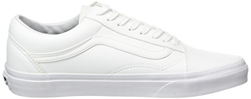 Vans Old Skool, Chaussures de Running Mixte Adulte Blanc (Classic Tumble)