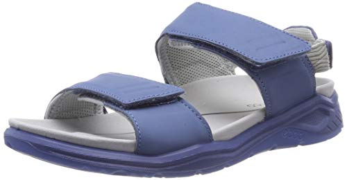 Ecco X-trinsic, Sandalias con Punta Abierta para Mujer, Retro Blue 1471, 37 EU
