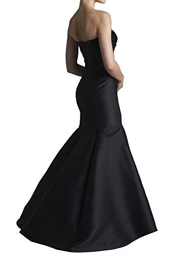 TOSKANA BRAUT Damen Mermaid Bolero Satin Abendkleider Lang Prom Fest Party Ballkleider Dunkel Gruen