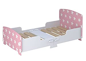 Kidsaw Star Junior/Toddler Bed Pink, of
